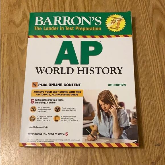 AP world history book